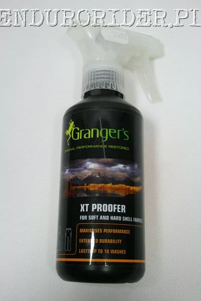 Grangers XT proofer for soft and hard shell fabrics