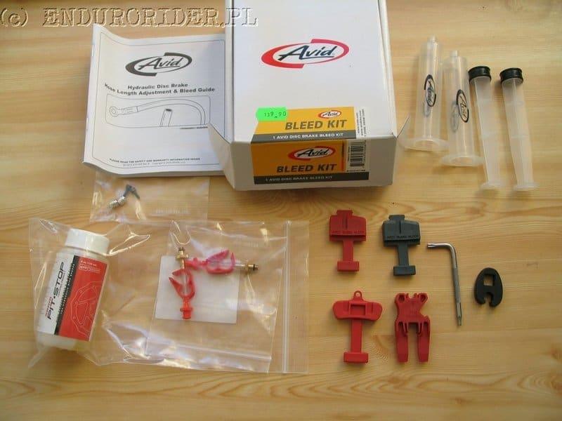Avid bleed kit