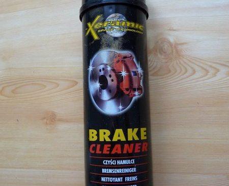 Xeramic brake cleaner