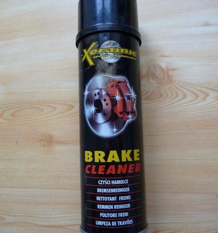 Xeramic brake cleaner