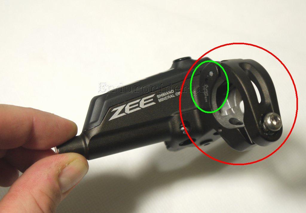 Shimano Zee BL M640 B clamp